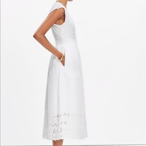 Madewell night breeze white eyelet•in high demand